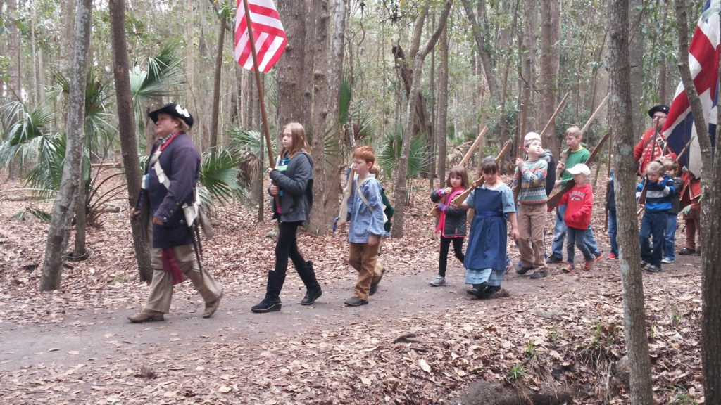 Colonial Faire & Muster Marching
