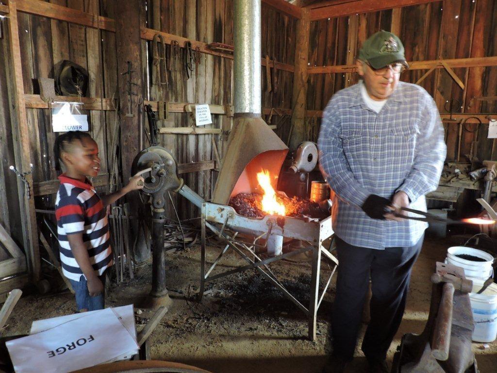 Longview Farm and Home Museum - Blacksmith
