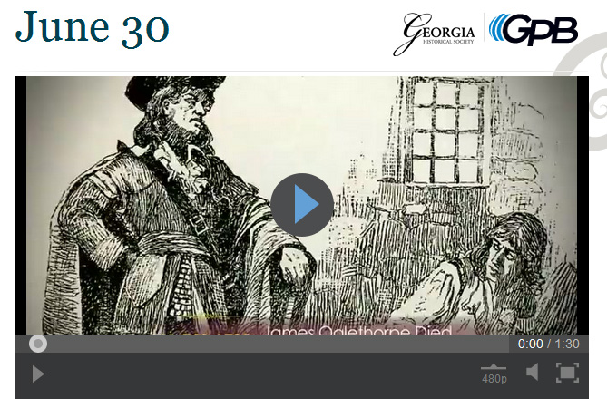 Georgia's Founding Father