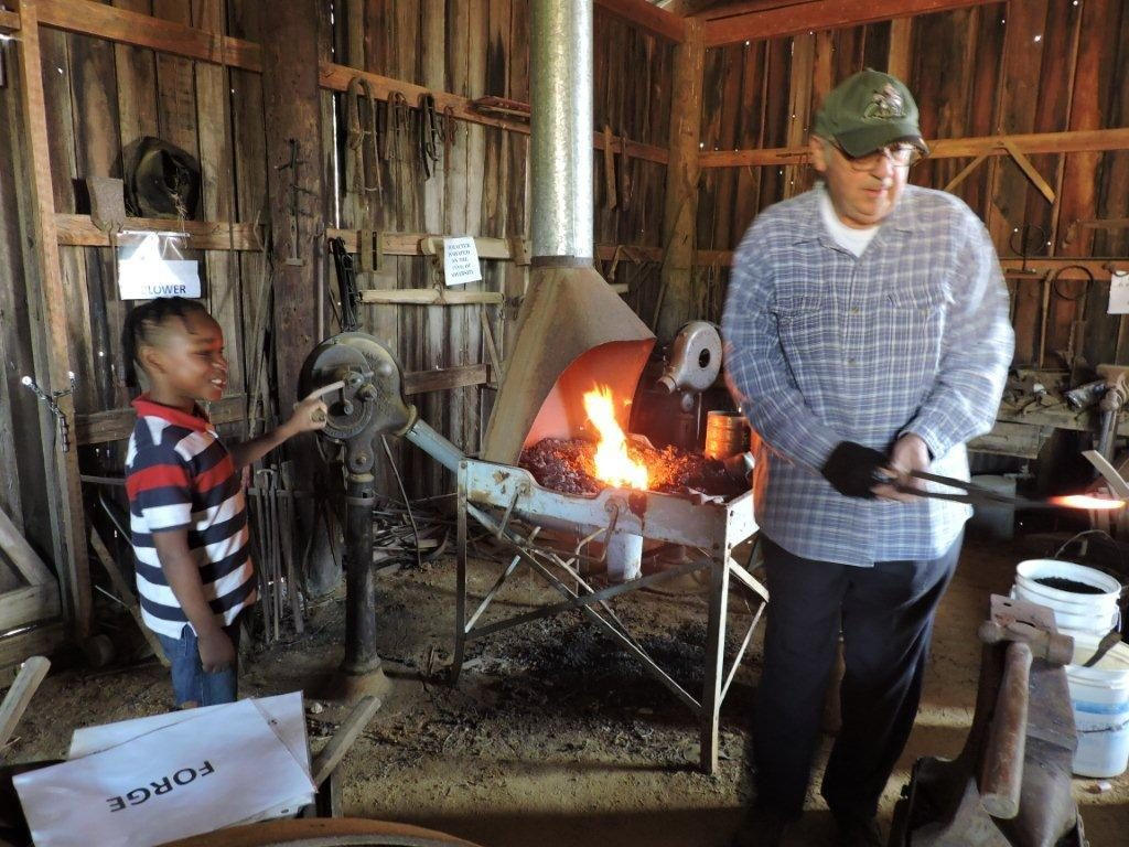 Longview Farm and Home Museum - Blacksmith