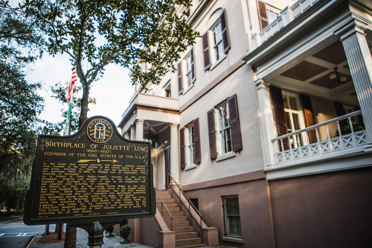 SMS Spotlight: Juliette Gordon Low Birthplace – Georgia History Festival