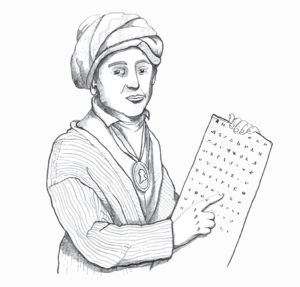 sequoyah-coloring-page